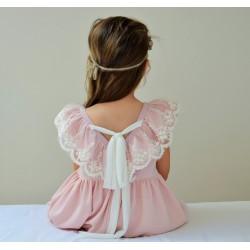 Sukienka Izabell róż